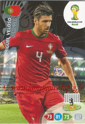 2014 - Panini FIFA World Cup Brazil Adrenalyn XL - N° 275 - Miguel VELOSO (Portugal)