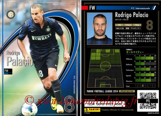 Panini Football League 2014 - PFL07 - N° 021 - Rodrigo PALACIO (Inter) (Star +)