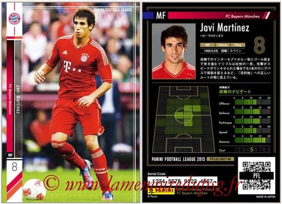 Panini Football League 2013 - PFL02 - N° 092 - Javi Martinez ( FC Bayern Munchen )