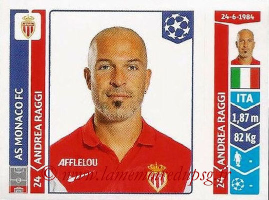 2014-15 - Panini Champions League N° 248 - Andera RAGGI (AS Monaco)