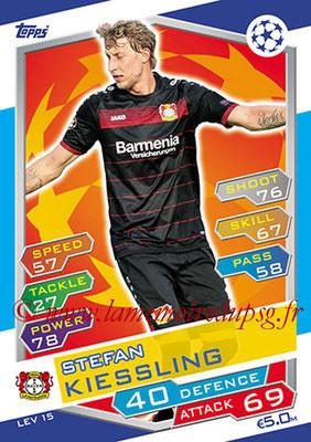 2016-17 - Topps UEFA Champions League Match Attax - N° LEV15 - Stefan KIESSLING (Bayer 04 Leverkusen)