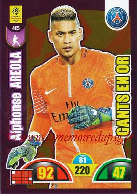 2018-19 - Panini Adrenalyn XL Ligue 1 - N° 405 - Alphone AREOLA (Paris Saint-Germain) (Gants en Or)