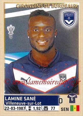 2014-15 - Panini Ligue 1 Stickers - N° 037 - Lamine SANÉ (Girondins de Bordeaux)