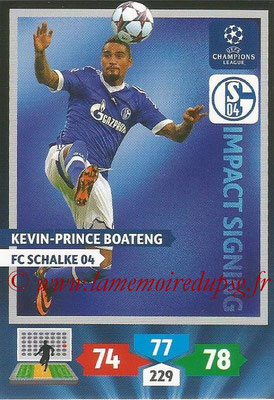 2013-14 - Adrenalyn XL champions League N° 287 - Kevin-Prince BOATENG (FC Schalke 04) (Impact Signing)