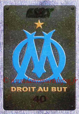 2015-16 - Panini Ligue 1 Stickers - N° 217 - Ecusson Olympique de Marseille