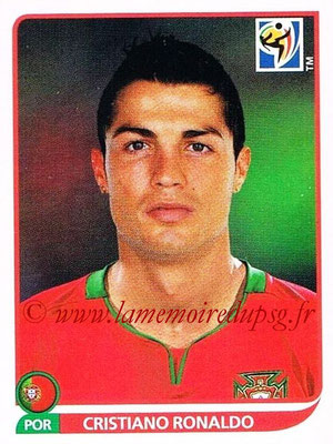 2010 - Panini FIFA World Cup South Africa Stickers - N° 559 - Cristiano RONALDO (Portugal)