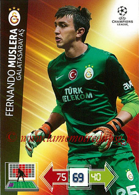 2012-13 - Adrenalyn XL champions League N° 100 - Fernando MUSLERA (Galatasaray AS)