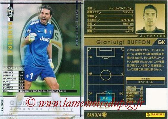 2013-14 - WCCF - N° BAN3 - Gianluigi BUFFON (Juventus FC) (Bandiera)