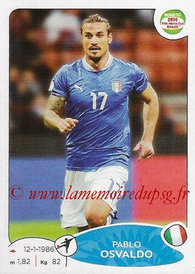 2014 - Panini Road to FIFA World Cup Brazil Stickers - N° 036 - Pablo OSVALDO (Italie)