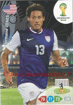 2014 - Panini FIFA World Cup Brazil Adrenalyn XL - N° 321 - Jermaine JONES (Etats-Unis)