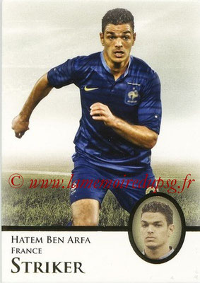2013 - Futera World Football Unique - N° 065 - Hatem BEN ARFA (France) (Striker)