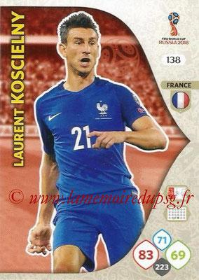 2018 - Panini FIFA World Cup Russia Adrenalyn XL - N° 138 - Laurent KOSCIELNY (France)