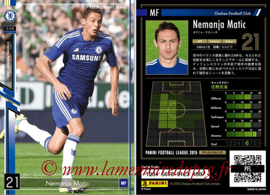 Panini Football League 2015 - PFL09 - N° 065 - Nemanja MATIC (Chelsea FC)