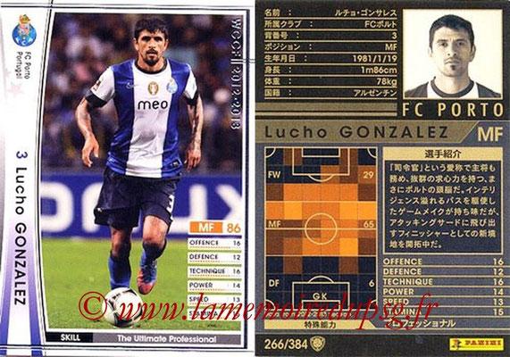 2012-13 - WCCF - N° 266 - Lucho GONZALEZ (FC Porto)
