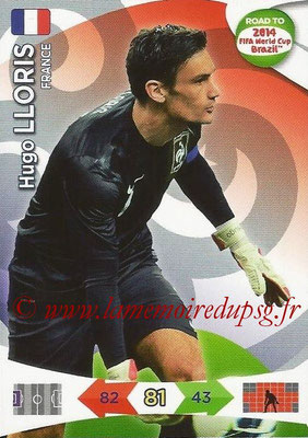2014 - Panini Road to FIFA World Cup Brazil Adrenalyn XL - N° 088 - Hugo LLORIS (France)