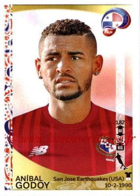 Panini Copa America Centenario USA 2016 Stickers - N° 366 - Anibal GODOY (Panama)