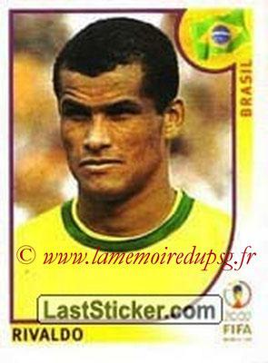 2002 - Panini FIFA World Cup Stickers - N° 183 - RIVALDO (Brésil)