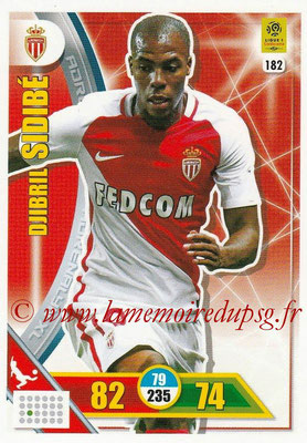 2017-18 - Panini Adrenalyn XL Ligue 1 - N° 182 - Djibril SIDIBE (Monaco)