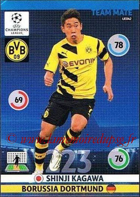 2014-15 - Adrenalyn XL champions League Update edition N° UE042 - Shinji KAGAWA (Borussia Dortmund)