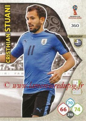 2018 - Panini FIFA World Cup Russia Adrenalyn XL - N° 360 - Cristhian STUANI (Uruguay)