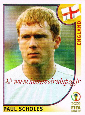 2002 - Panini FIFA World Cup Stickers - N° 433 - Paul SCHOLES (Angleterre)