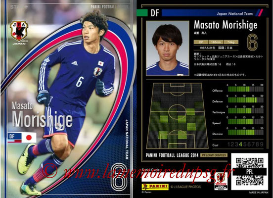 Panini Football League 2014 - PFL06W - N° 008 - Masato MORISHIGE (Japon) (Star +)
