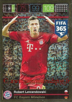 2015-16 - Panini Adrenalyn XL FIFA 365 - N° LE-RL2 - Robert LEWANDOWSKI (FC Bayern Munich) (Limited Edition)