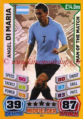 Topps Match Attax England 2014 - N° 241 - Angel DI MARIA (Argentine) (Man of the Match)