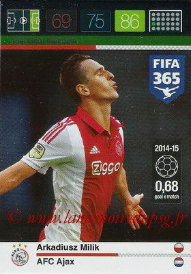 2015-16 - Panini Adrenalyn XL FIFA 365 - N° 154 - Arkadiusz MILIK (AFC Ajax) (Goal Machine)