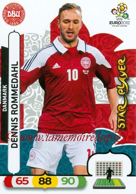 Panini Euro 2012 Cards Adrenalyn XL - N° 023 - Dennis ROMMEDAHL (Danemark) (Star Player)