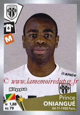2017-18 - Panini Ligue 1 Stickers - N° T03 - Prince ONIANGUE (Angers) (Transfert)