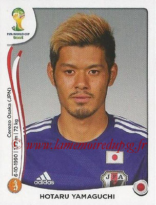 2014 - Panini FIFA World Cup Brazil Stickers - N° 254 - Hotaru YAMAGUCHI (Japon)