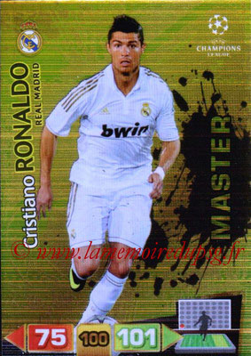 2011-12 - Panini Champions League Cards - N° 348 - Cristiano RONALDO (Real Madrid CF) (Master)
