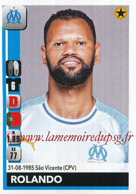 2018-19 - Panini Ligue 1 Stickers - N° 207 - ROLANDO (Marseille)