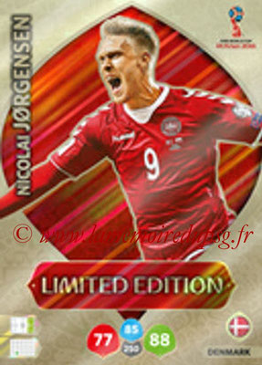 2018 - Panini FIFA World Cup Russia Adrenalyn XL - N° LE-NJ - Nicolai JORGENSEN (Danemark) (Limited Edition)