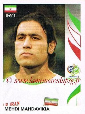 2006 - Panini FIFA World Cup Germany Stickers - N° 273 - Mehdi MAHDAVIKIA (Iran)