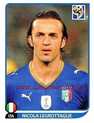 2010 - Panini FIFA World Cup South Africa Stickers - N° 417 - Nicola LEGROTTAGLIE (Italie)