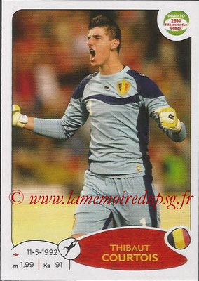 2014 - Panini Road to FIFA World Cup Brazil Stickers - N° 257 - Thibaut COURTOIS (Belgique)