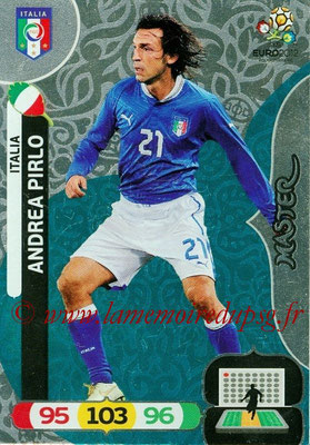 Panini Euro 2012 Cards Adrenalyn XL - N° 289 - Andrea PIRLO (Italie) (Master)