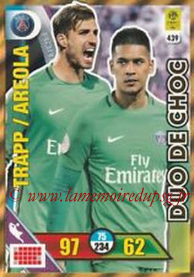 N° 439 - Kevin TRAPP + Alphonse AREOLA (Duo de Choc)