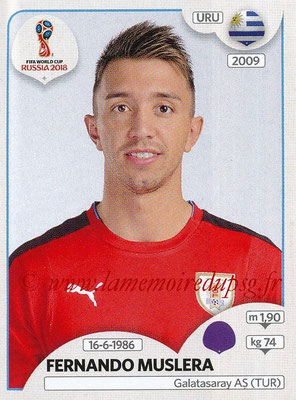 2018 - Panini FIFA World Cup Russia Stickers - N° 094 - Fernando MUSLERA (Uruguay)
