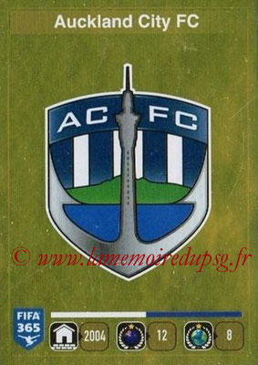 2015-16 - Panini FIFA 365 Stickers - N° 671- Ecusson Auckland City FC