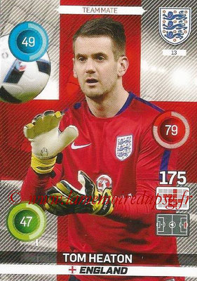 Panini England 2016 Adrenalyn XL - N° 013
