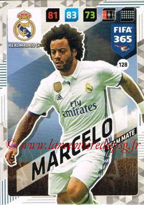 2017-18 - Panini FIFA 365 Cards - N° 128 - MARCELO (Real Madrid CF)