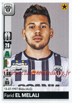 2018-19 - Panini Ligue 1 Stickers - N° 045 - Farid EL MELALI (Angers)