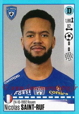 2016-17 - Panini Ligue 1 Stickers - N° T07 - Nicolas SAINT-RUF (Bastia) (Set Transfert)