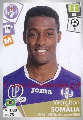2017-18 - Panini Ligue 1 Stickers - N° 483 - Wergiton SOMALIA (Toulouse)