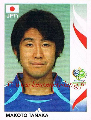 2006 - Panini FIFA World Cup Germany Stickers - N° 442 - Makoto TANAKA (Japon)