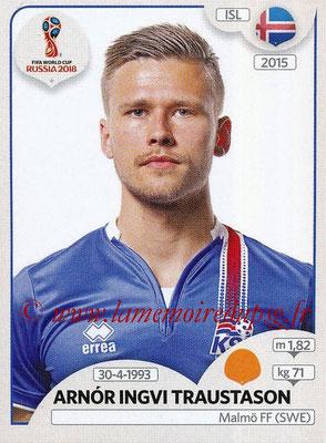 2018 - Panini FIFA World Cup Russia Stickers - N° 305 - Arnor INGVI TRAUSTASON (Islande)
