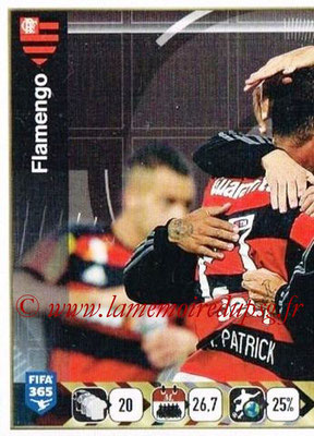 2015-16 - Panini FIFA 365 Stickers - N° 207 - Equipe CR Flamengo 1